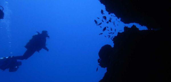 Scuba Diving on Amorgos