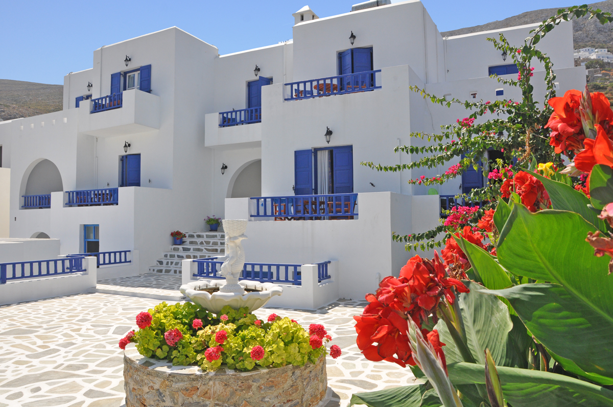 Accommodation Hotel Agnadi on Amorgos