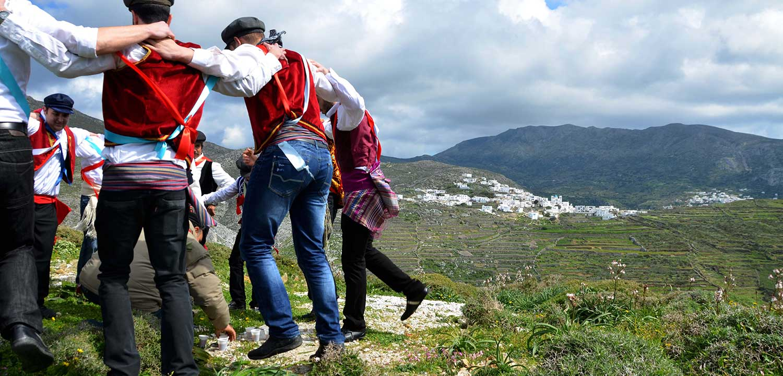The Festival of Kapetanios Tholaria Amorgos