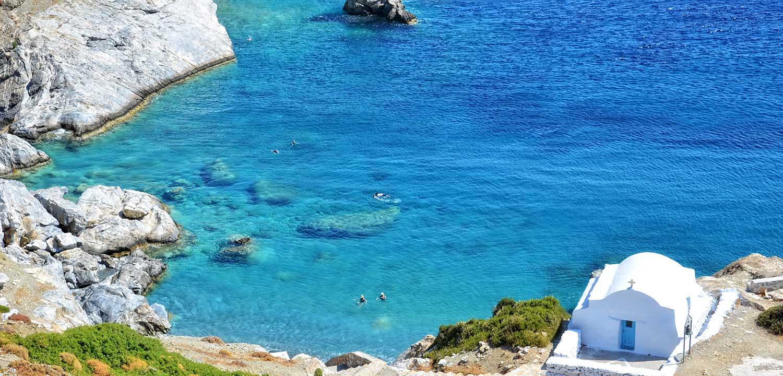 Agia Anna Beach on Amorgos