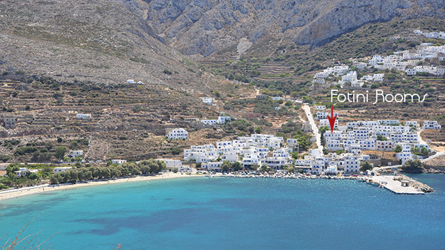 Fotini Rent Rooms Aegiali Amorgos